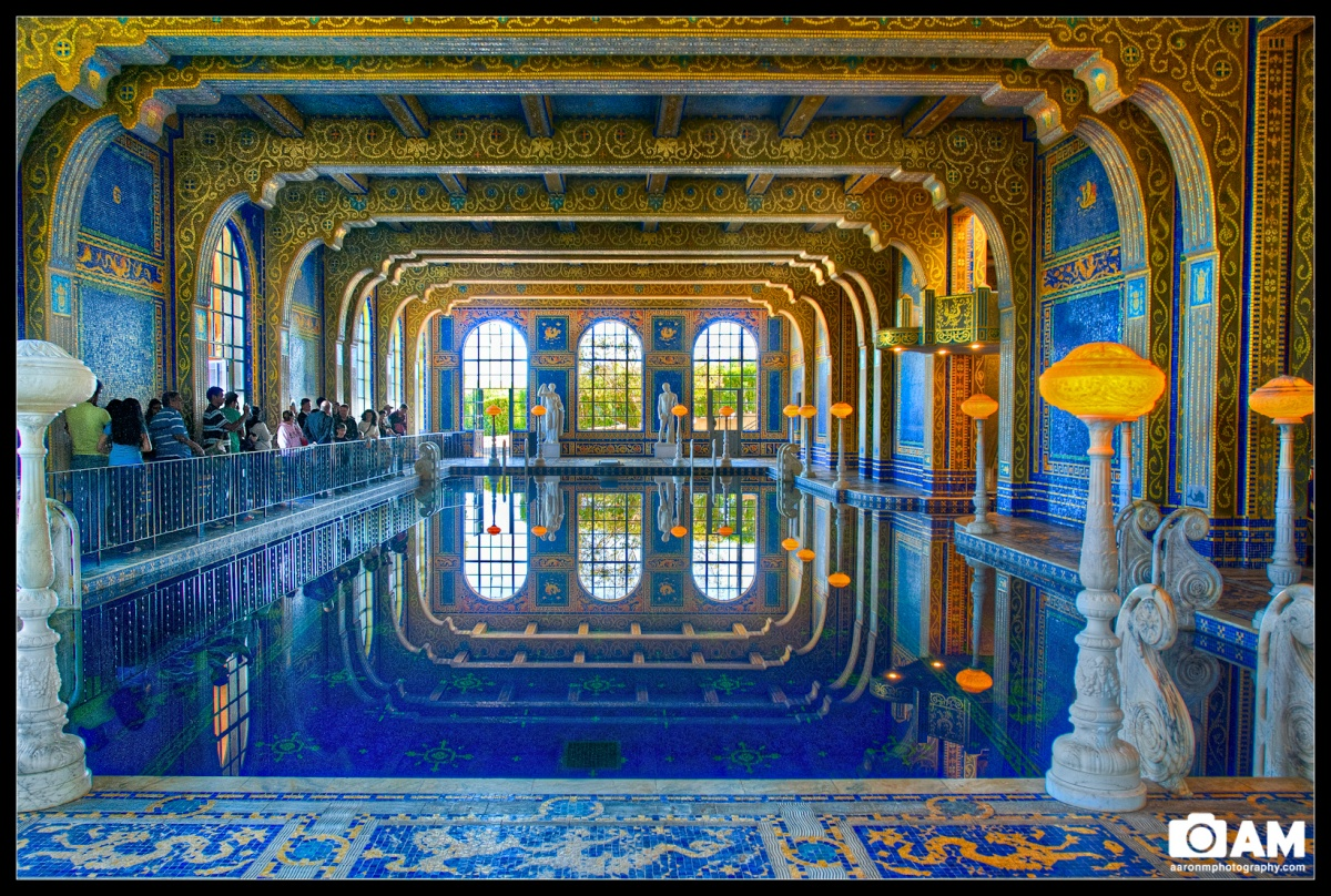 Hearst Castle Indoor Roman Pool Aaron M Photography Blog