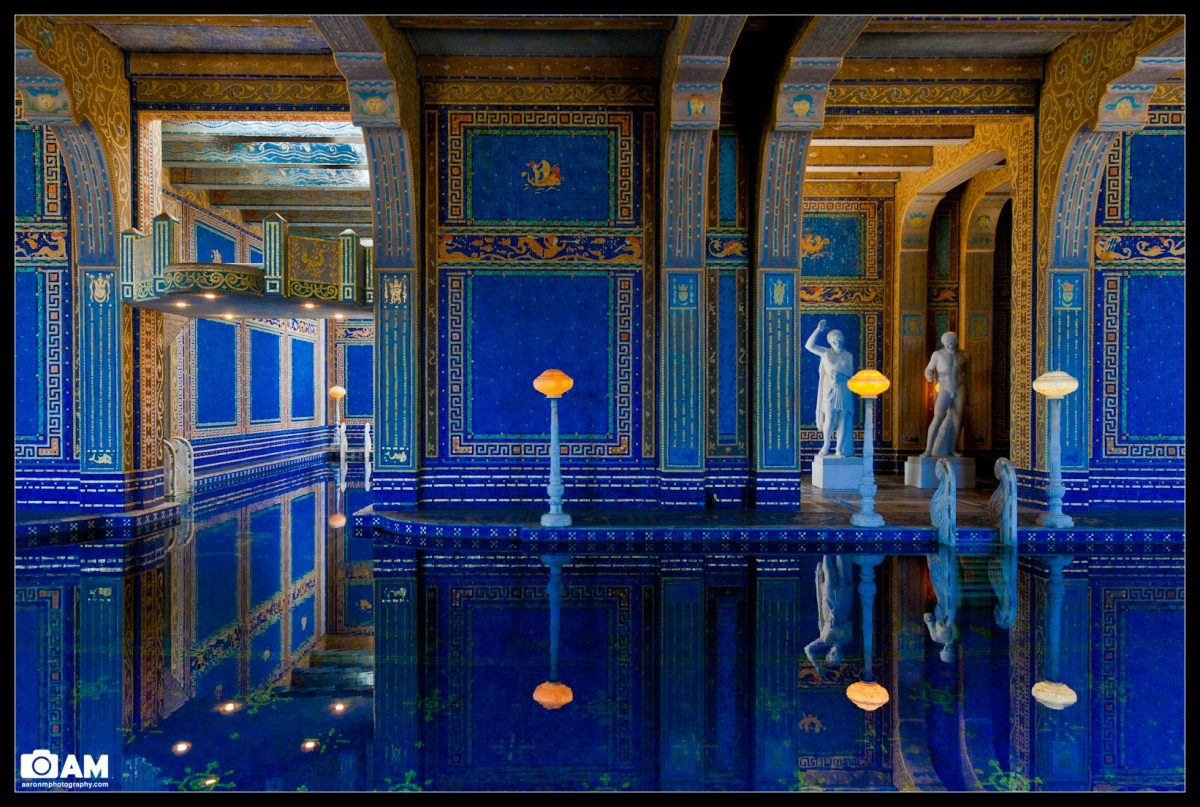 Hearst castle roman pool aaron m photography blog for Roman style pool design