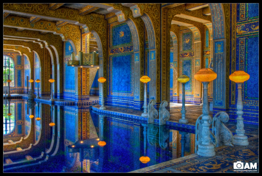 Hearst Castle, Indoor Roman Pool