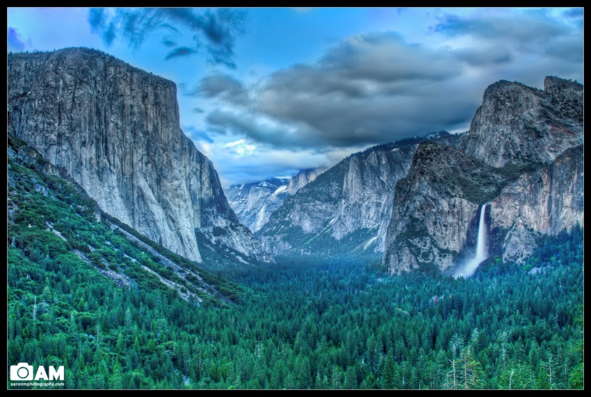 Yosemite, Tunnel View