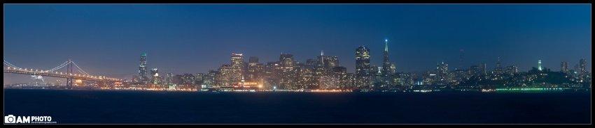 SF Fireworks Skyline