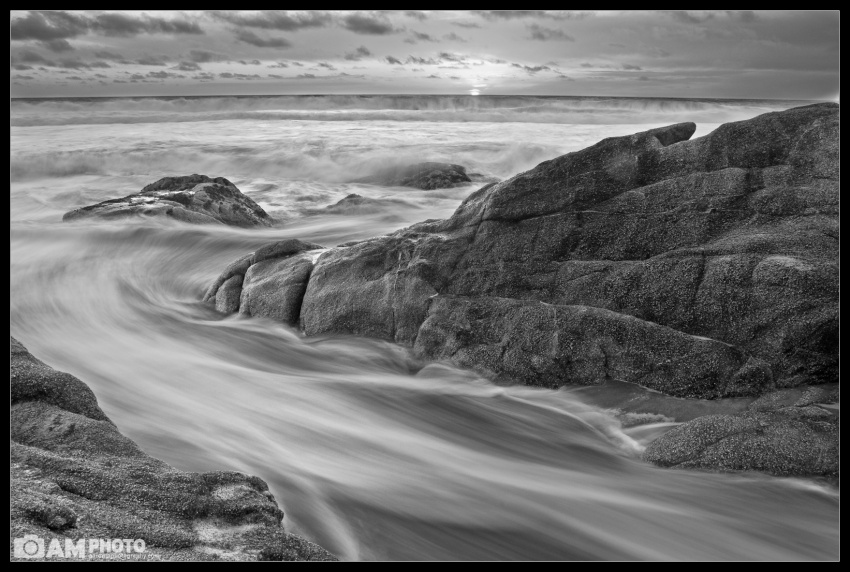 Gray Whale Cove B&W