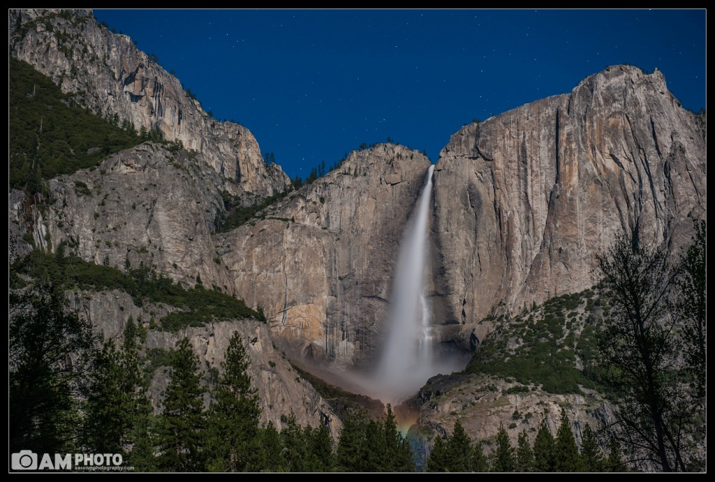 Tiny Moonbow, Yosemite Falls