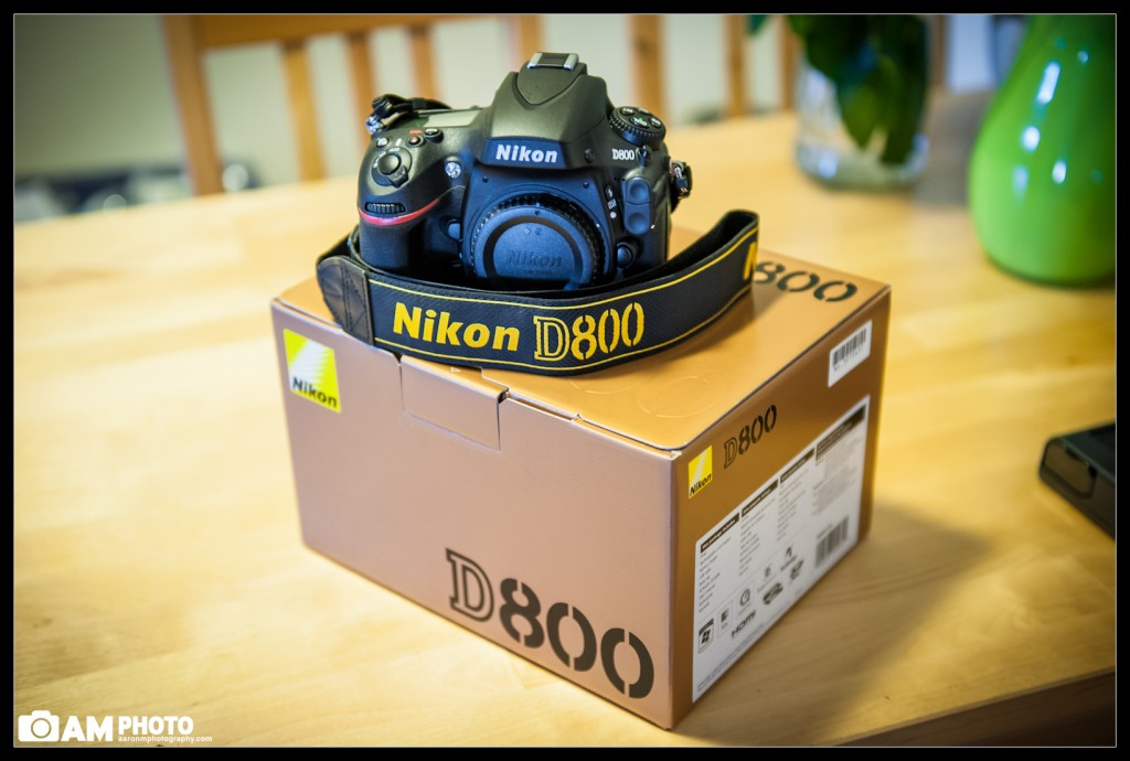 My D800 finally Arrived