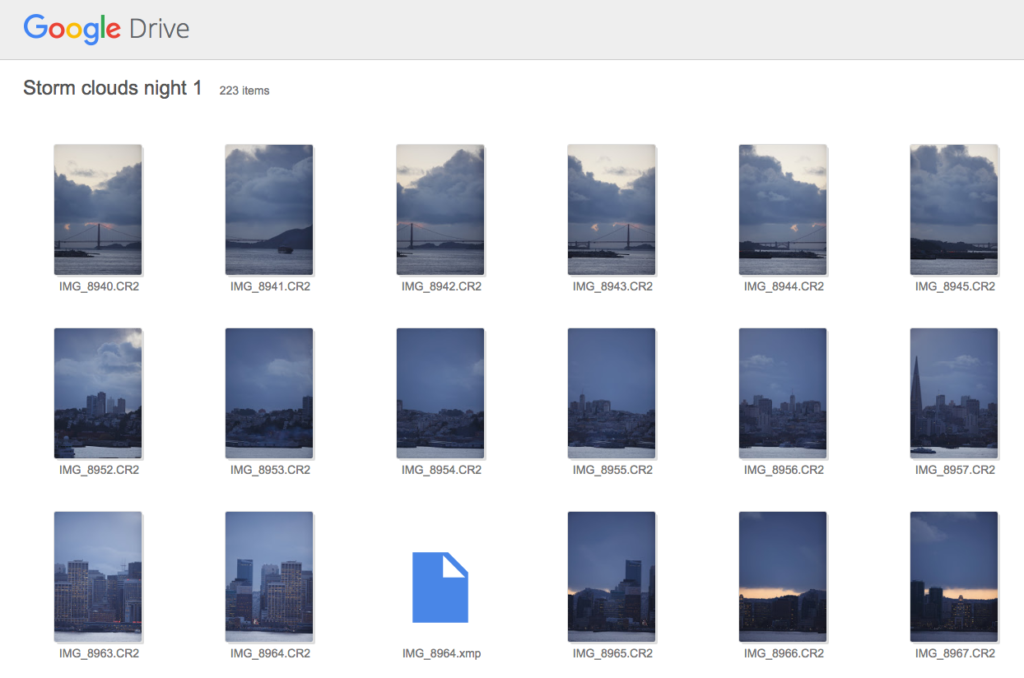 Getting the Photos from Google Drive